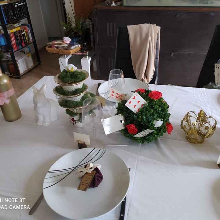 Essai table Alice - 5