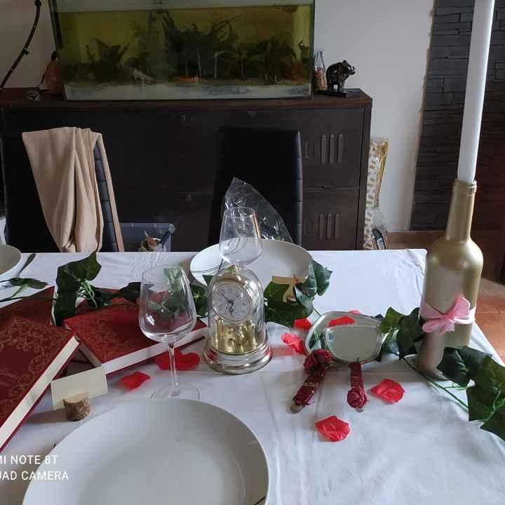 Essai table belle et la bête - 2