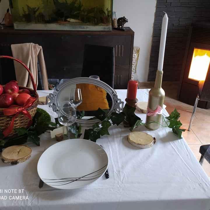 Essai table blanche neige - 2