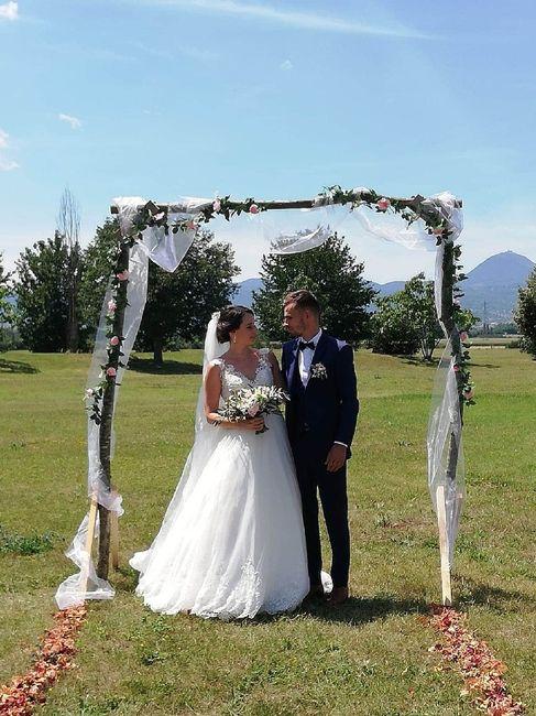 A tout les mariages qui ceux sont déroulés en juillet 2