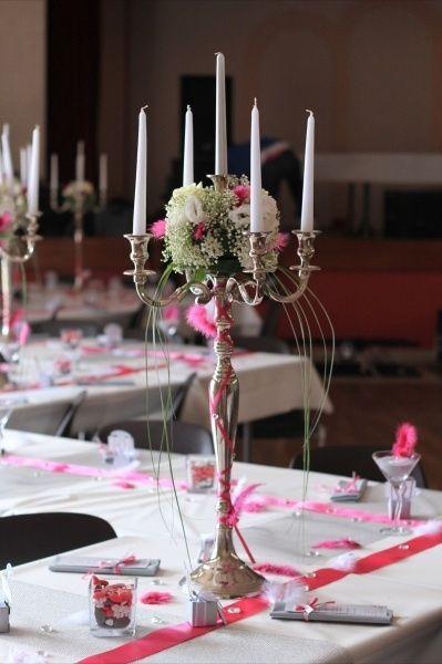 Mon centre de table trop ch re page 2 d coration forum - Bougeoir centre de table mariage ...