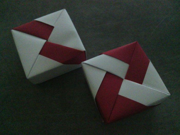 boite a drag e en origami d coration forum. Black Bedroom Furniture Sets. Home Design Ideas
