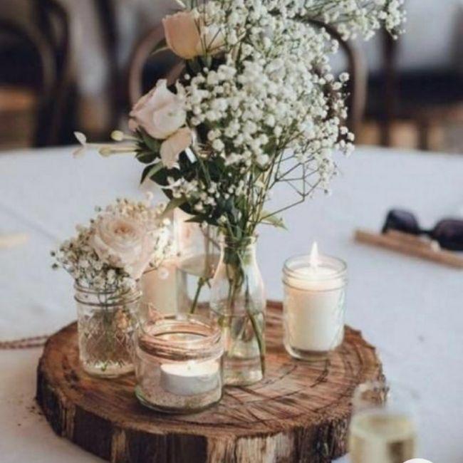 Centre de table - fleurs, quel nom ? 1
