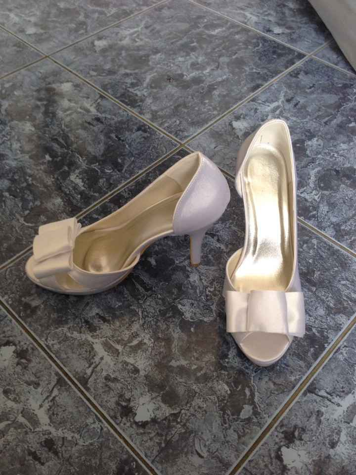 A vendre chaussures mariage - 1