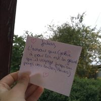 Love note en urgence - 1