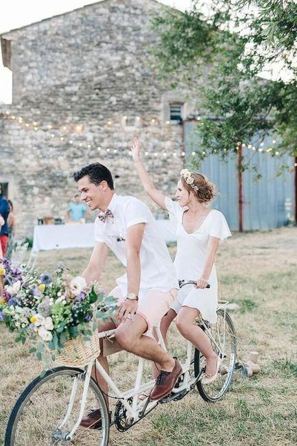 Il y aura un 2 roues à ton mariage ? 🛵😎 3