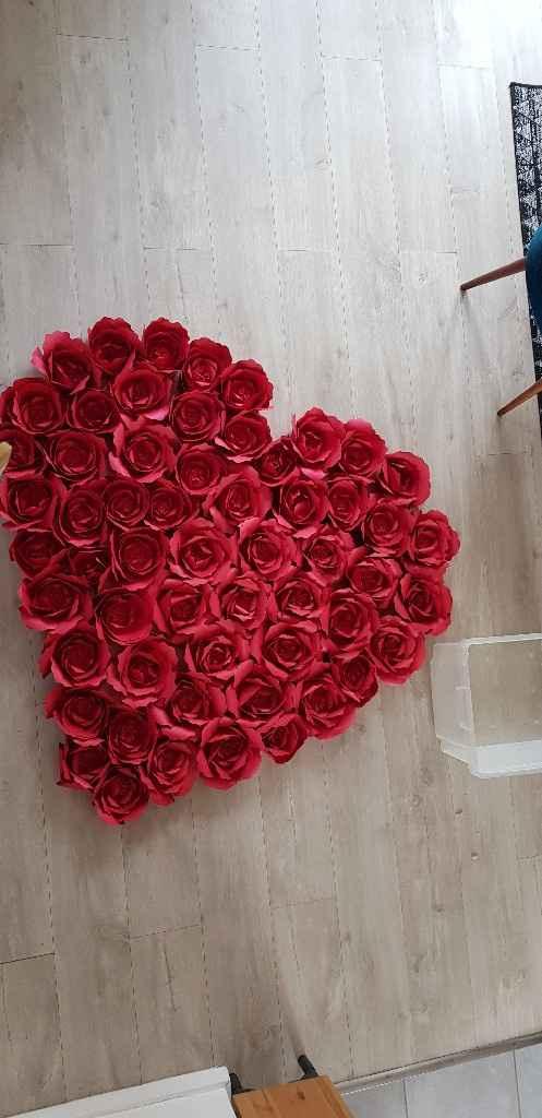 Suite et fin de mes roses en papiers - 3