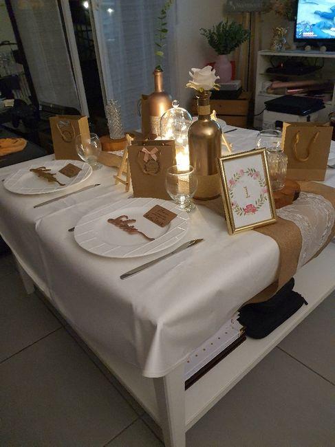 Test décoration de table 1