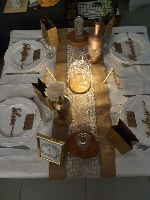 Test décoration de table 2