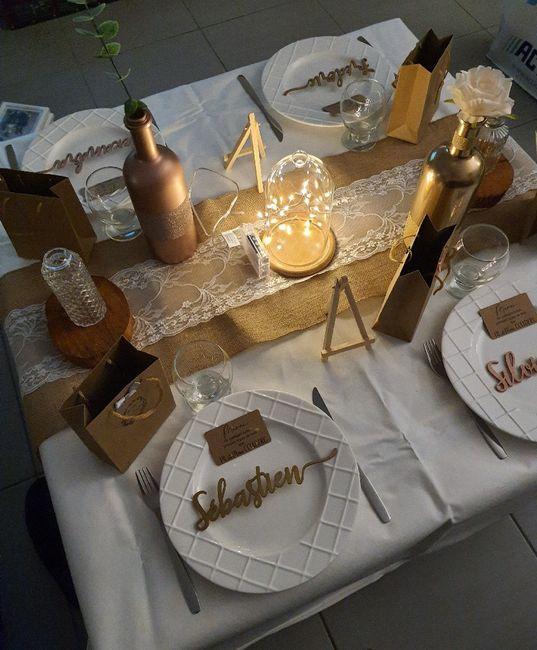 Test décoration de table 5