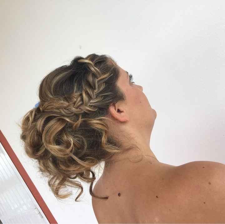 Enfin mon essai coiffure !!! - 3