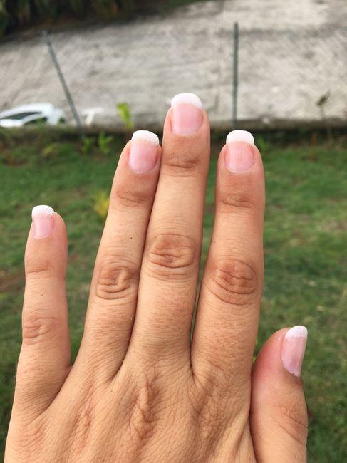 Manucure du jour j - 1