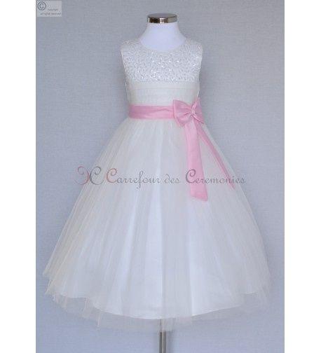 Id e de robe de demoiselle d 39 honneur enfant 1 photo mode nuptiale - Robe de demoiselle d honneur enfant ...