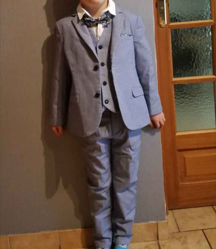 Enfants d'honneur tenues 1