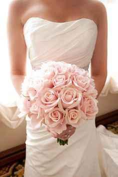 Des roses en bouquet