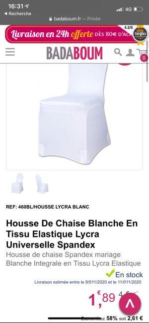 Housse de Chaises 4