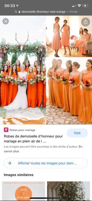 Robes demoiselles d'honneurs 14