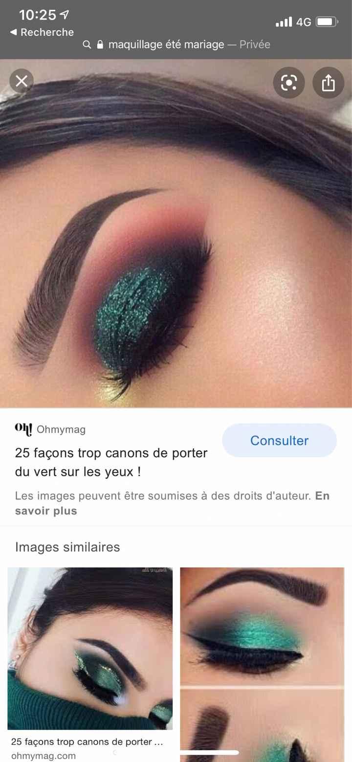 Inspi make up du jour j - 3