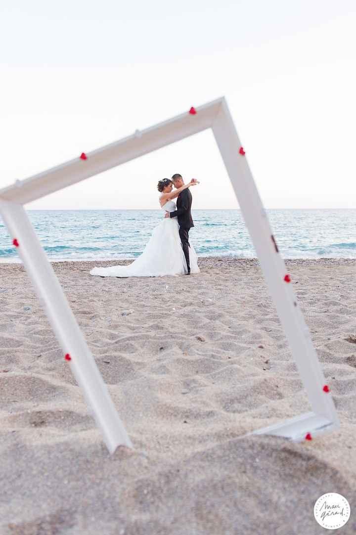 cadre à plage