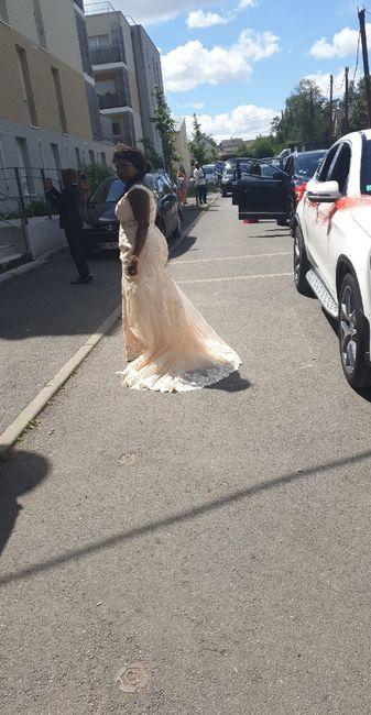 Mariée le samedi 20 juin  Rennes 1