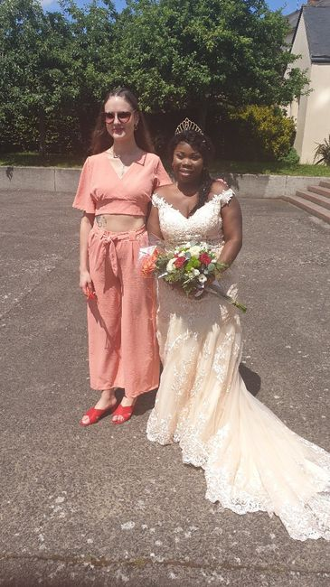 Mariée le samedi 20 juin  Rennes 6