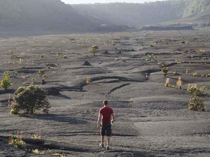 Big Island - dans un cratère