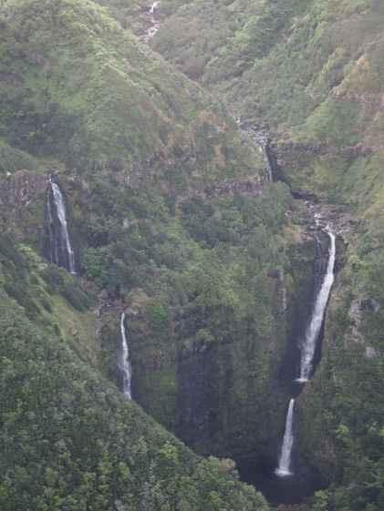 Maui/Molokai - Survol en hélicoptère