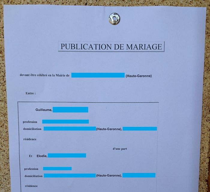 Petit bilan au lendemain du j 40 avant le mariage forum - Publication banc mariage ...