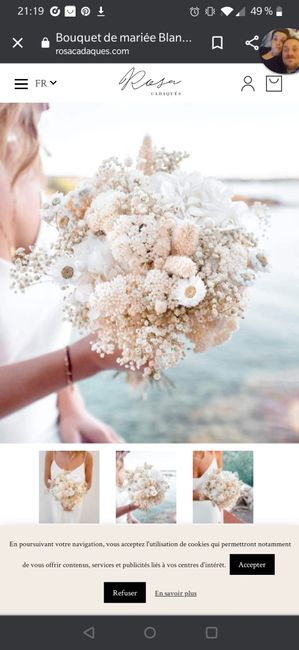 Bouquet de Mariee fleurs sechees? 8