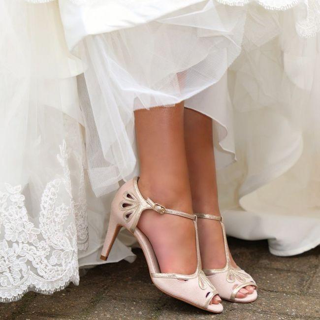 Espadrilles compensées pour la mariée, c'est oui ou c'est niet pour vous ? 5