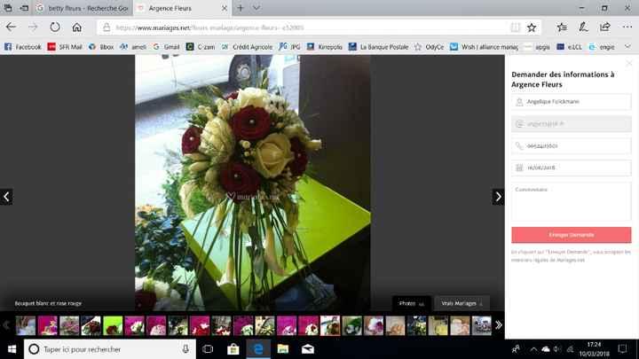mon bouquet que je voudrais