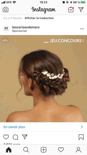 Inspiration : les coiffures des mariées 26