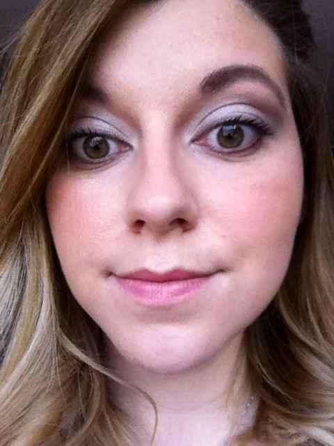 Dernier essai coiffure-maquillage