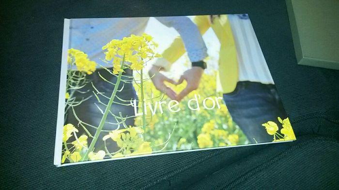 Livre d'or sur photobox - 1