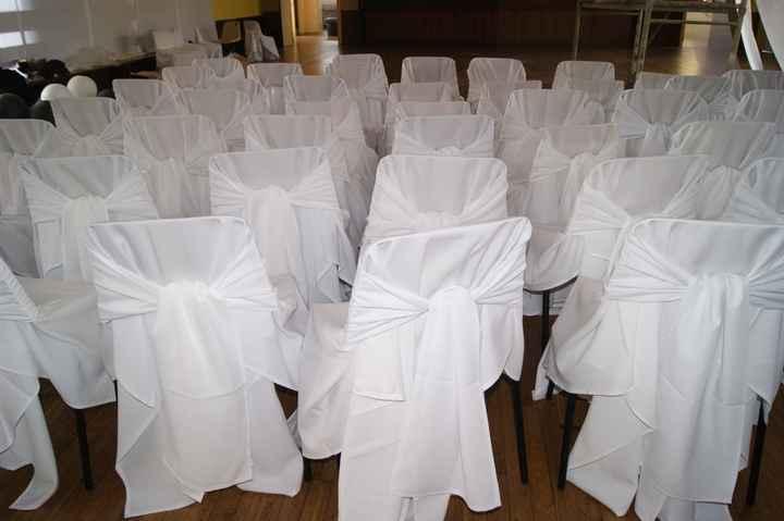 Les housses de chaises