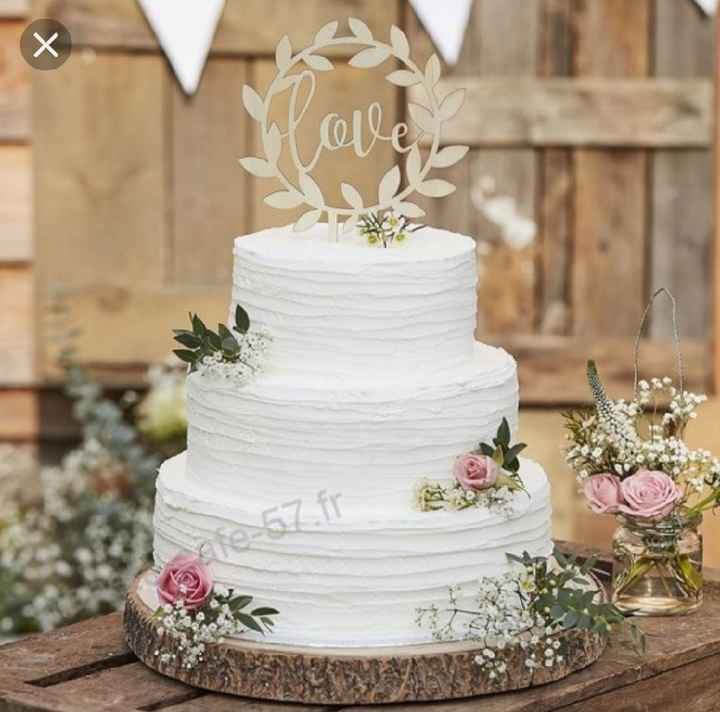 Tu préfères... Wedding cake ou Naked Cake ? - 1