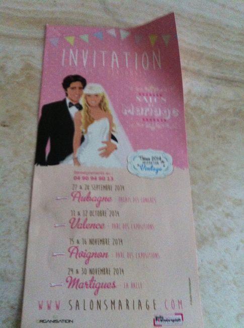 Invitation salon