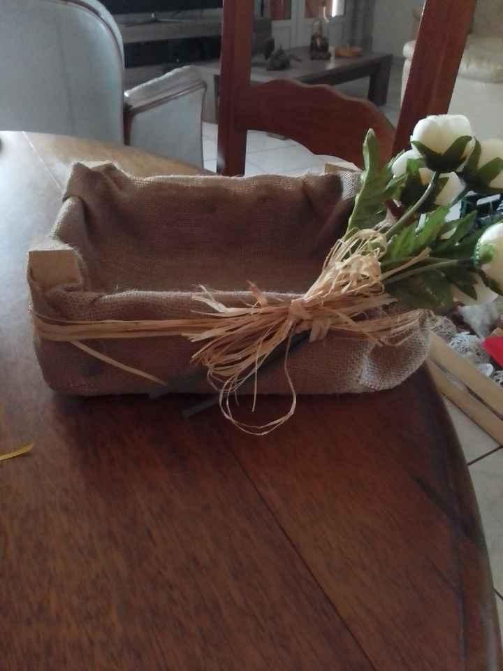 Guirlande fanions champêtre - 1
