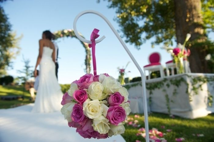 bonjour les filles - Piquet Porte Lanterne Mariage
