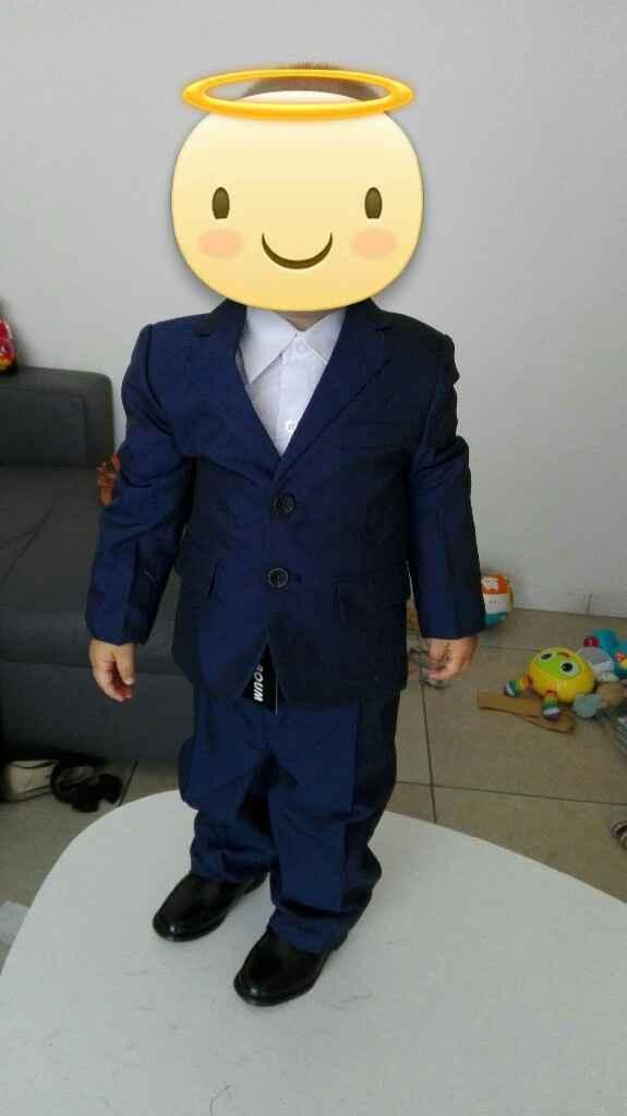 Mon petit prince dans son costume !!!! - 2