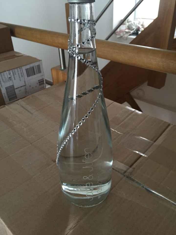 Mes bouteilles evian sont arrivées ! - 1