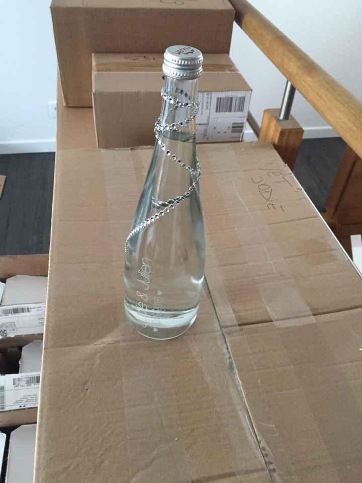 Mes bouteilles evian sont arrivées ! - 2