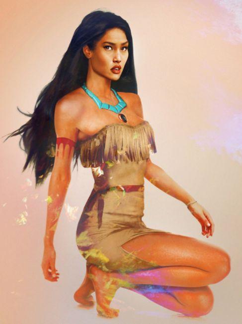 Mariage thème Disney - Pocahontas