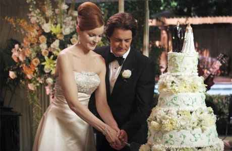 Wedding cake Desperate Housewives