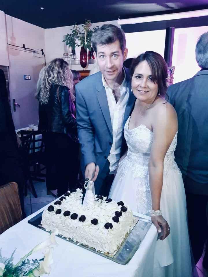 Notre gâteau de mariage