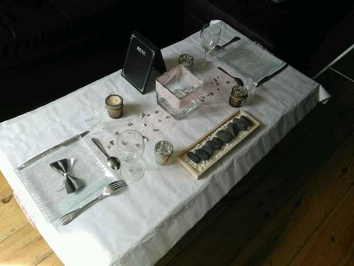 Essai deco table - 1