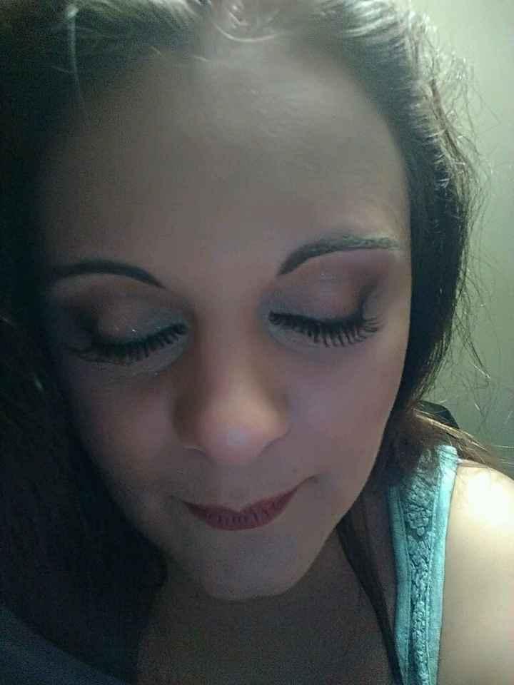 Mon maquillage pour le jour j 2eme essai - 3