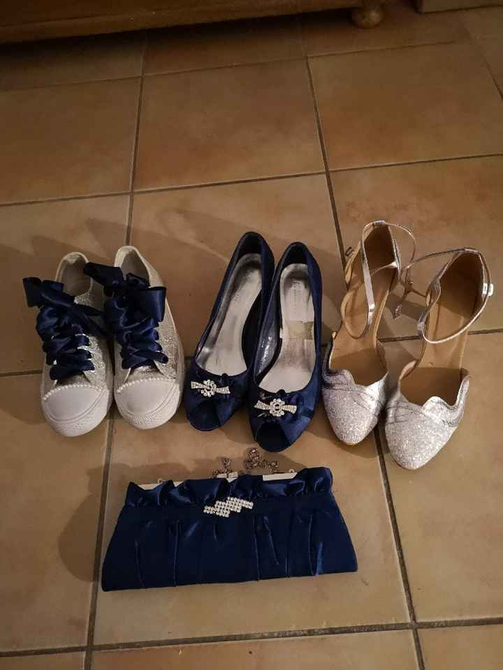 Chaussures bleues - 1