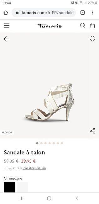 Chaussures mariée - 1
