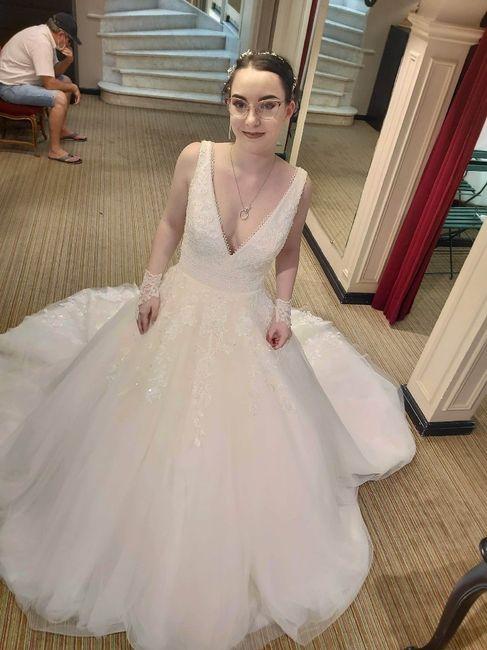 Essayages robe de mariée 3